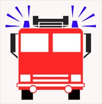 200x205 Fire Truck Clipart Fire Engine