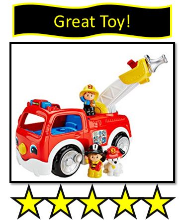 372x445 Fisher Price Little People Fire Truck Review Toy Reviews By Dad