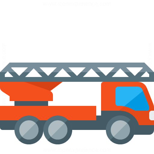 512x512 Iconexperience G Collection Fire Truck Icon