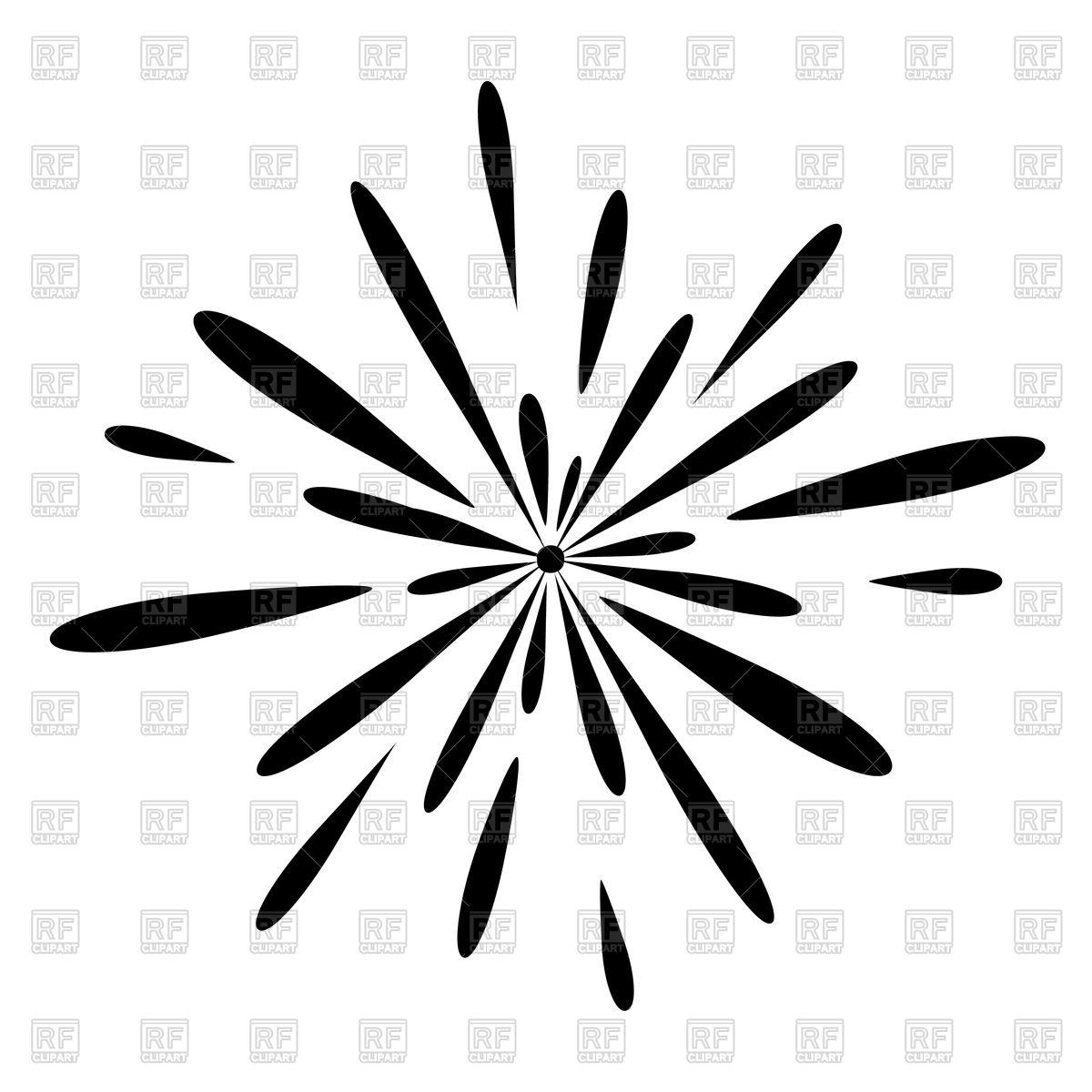 1200x1200 Fireworks Celebration Royalty Free Vector Clip Art Image