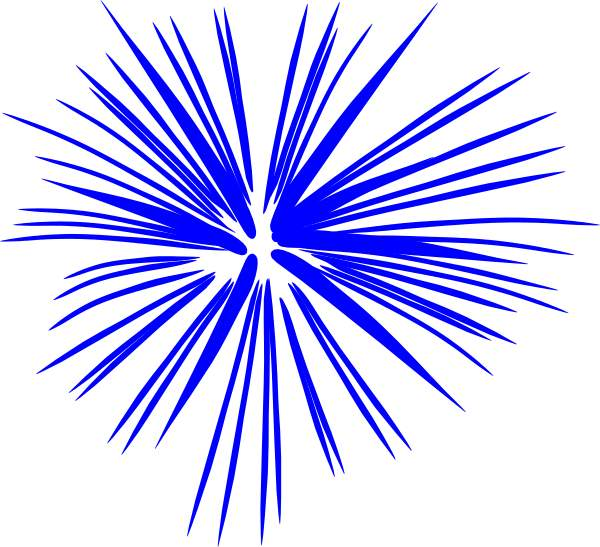 600x547 Free Clip Art Fireworks Clipart
