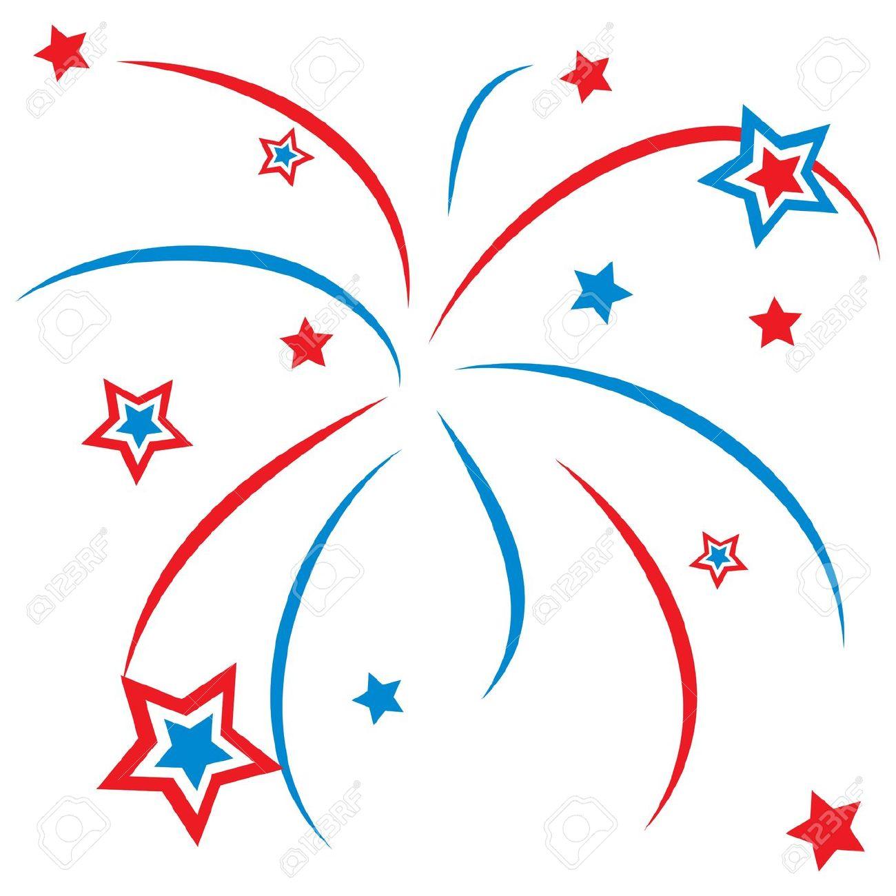 1300x1300 Star Fireworks Clipart