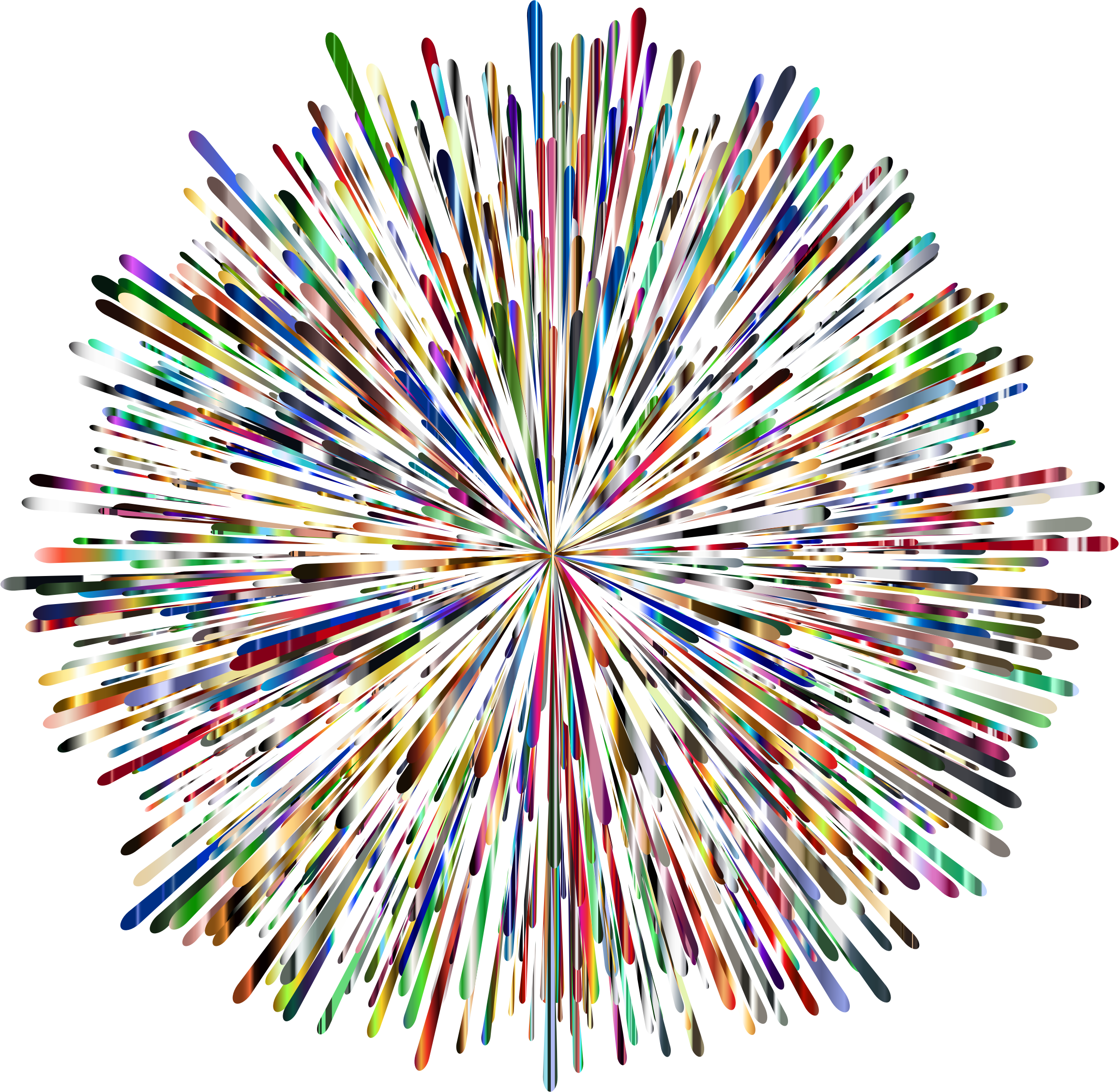 2312x2256 Clipart Prismatic Fireworks 6 No Background