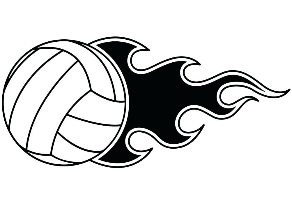 1003x700 Fireball Clipart Volleyball Net With Fireball Sign Icon Beach