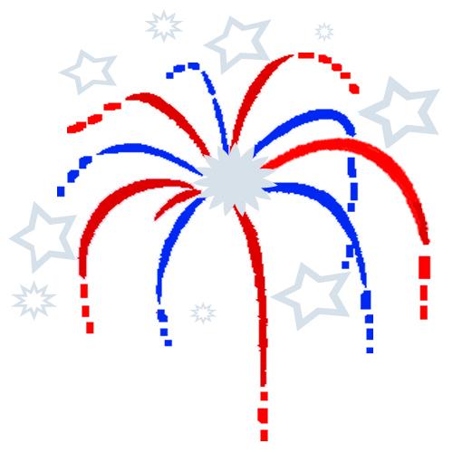 500x500 Fireworks Clip Art Free Chadholtz