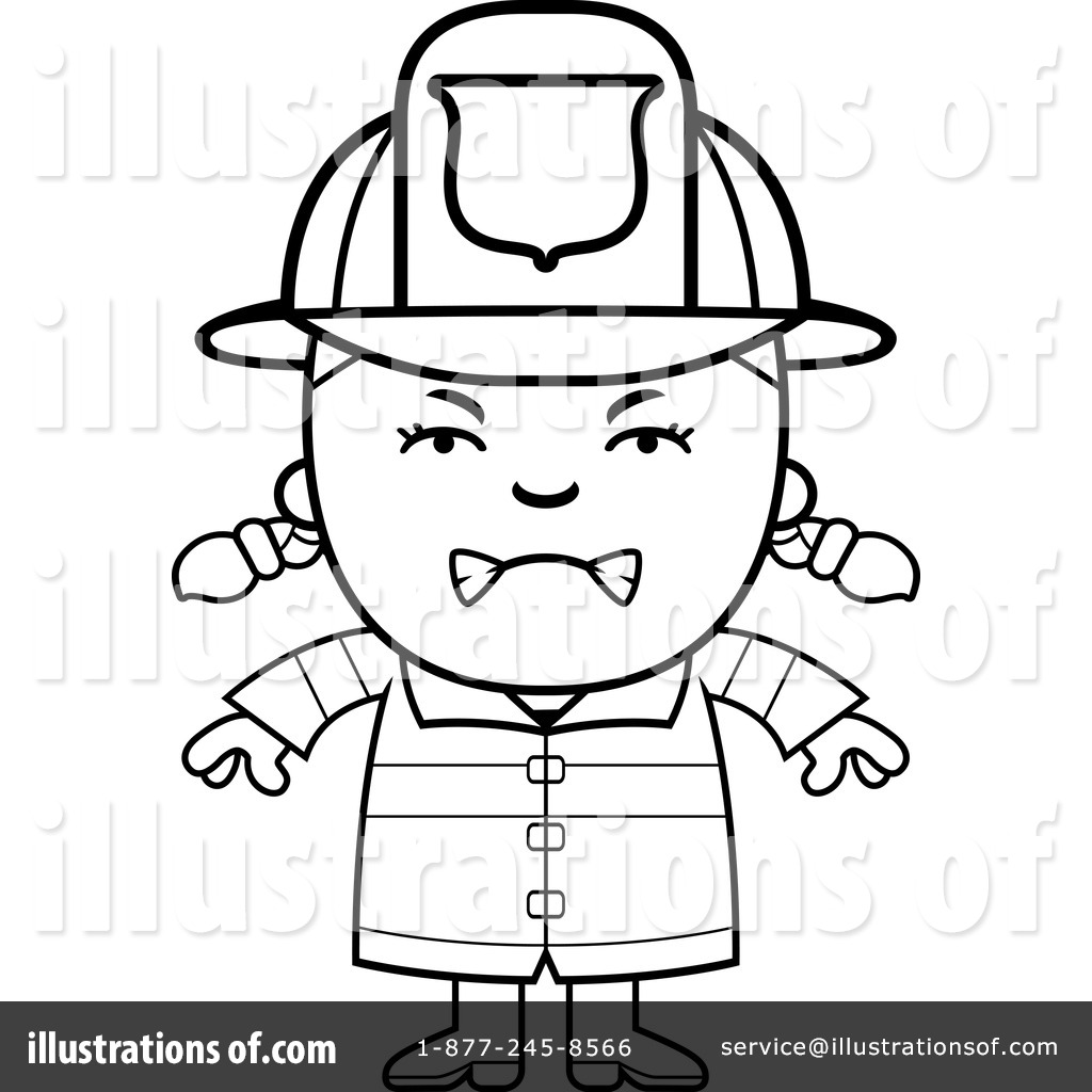 1024x1024 Firefighter Clipart