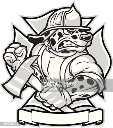 389x440 Firefighter Clipart Muscular