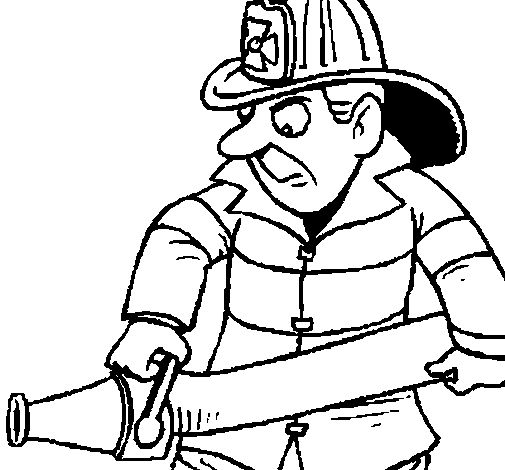505x470 54 Best Coloring Firefighting Images Firefighters