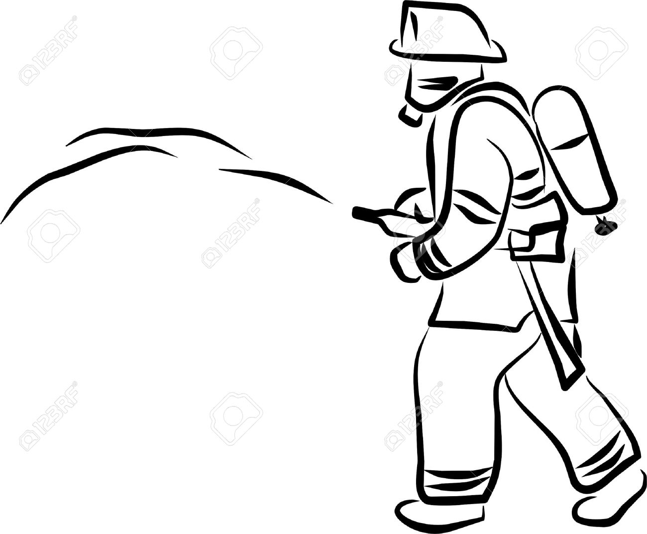 1300x1072 Extinguish Fire Firefighter Clipart, Explore Pictures