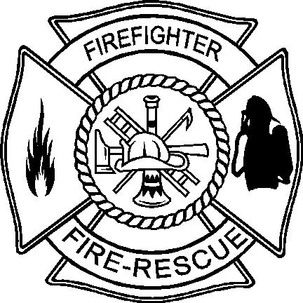 432x432 Firefighter Badge Clipart