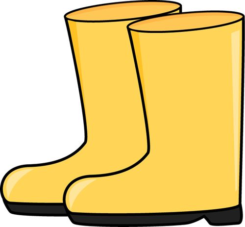 500x463 Boots Clipart Wet