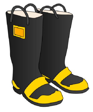 300x360 Boots Clipart Firefighter Boot