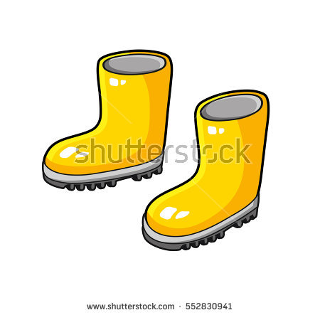 450x443 Boots Clipart Yellow Shoe