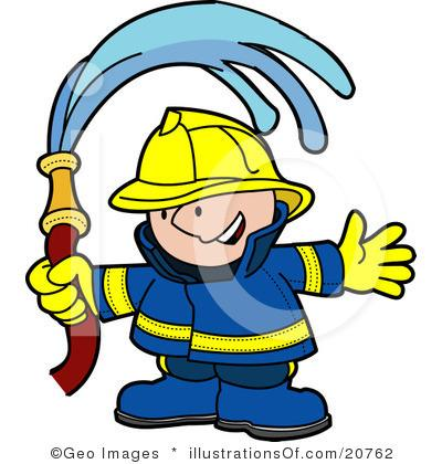 400x420 Firefighter Outfit Clipart
