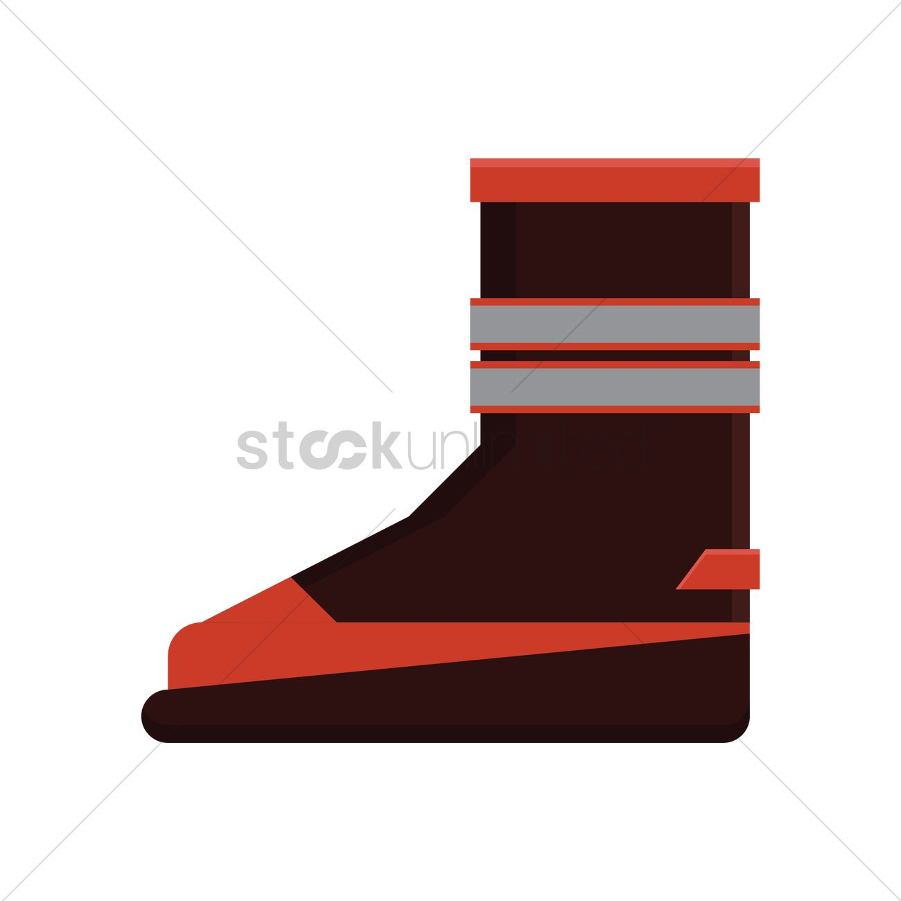 1300x1300 Firefighter Boots Vector Image