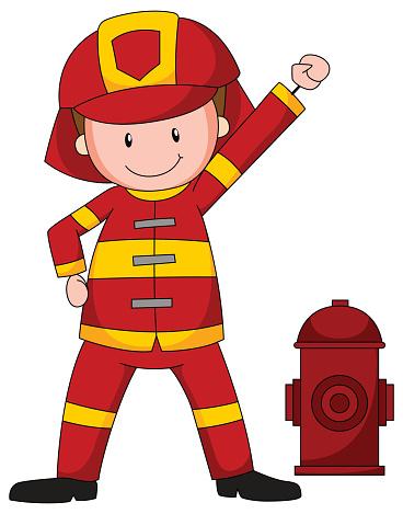 368x469 Firefighter Clipart Fireman Uniform