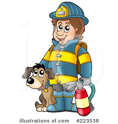 400x420 Fireman Clipart Free