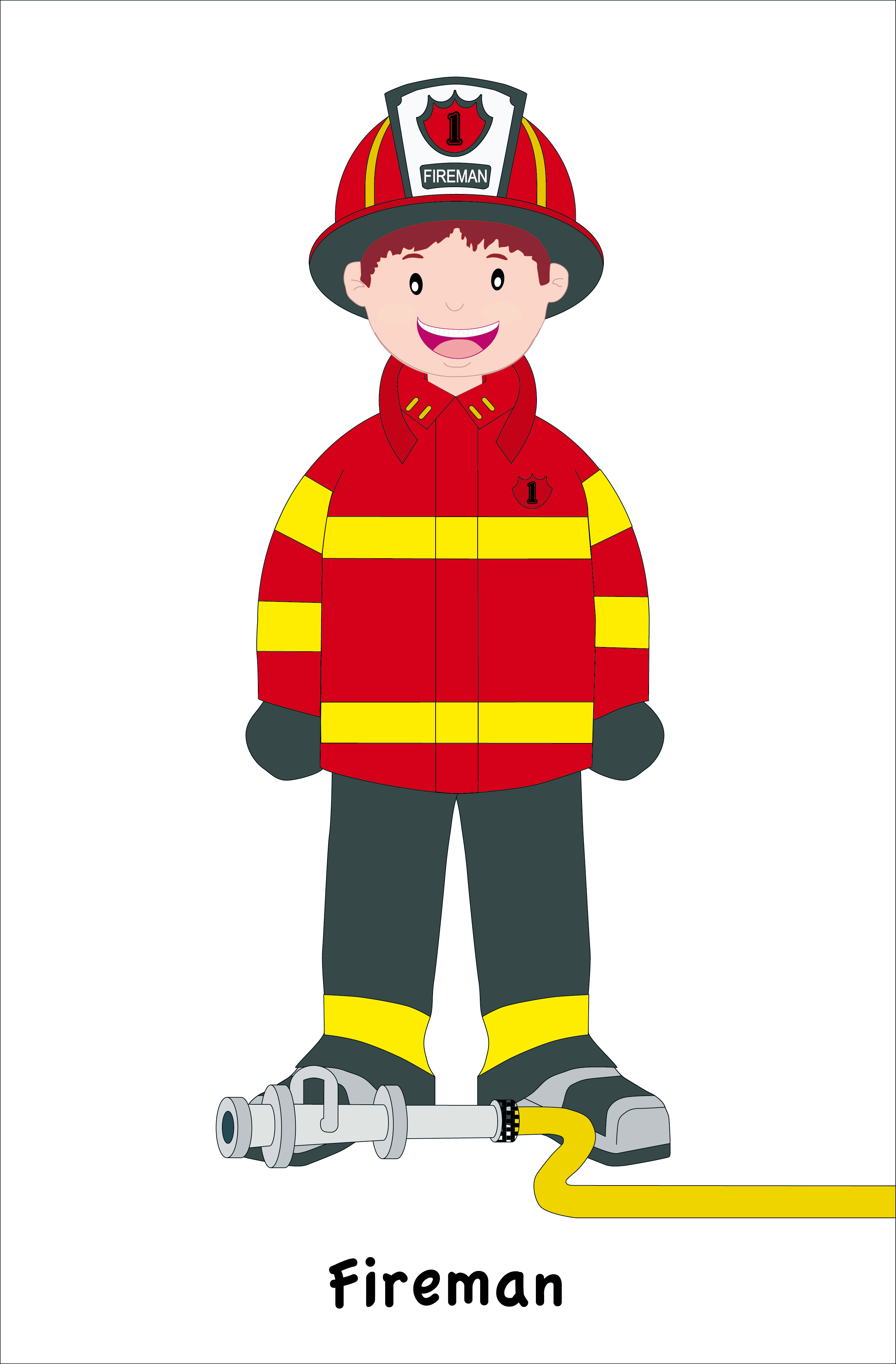 2717x4134 Fireman Clipart The Cliparts Databases 4