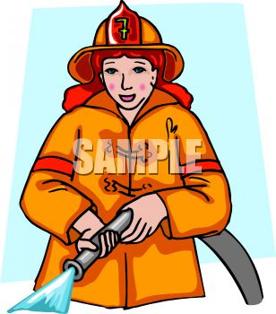 308x350 Lady Firefighter