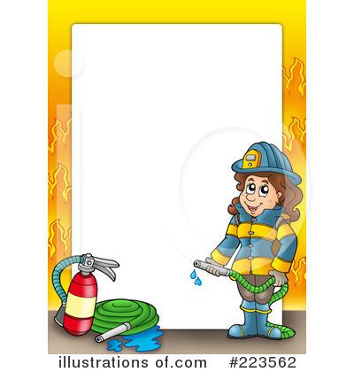 400x420 Firefighter Clip Art