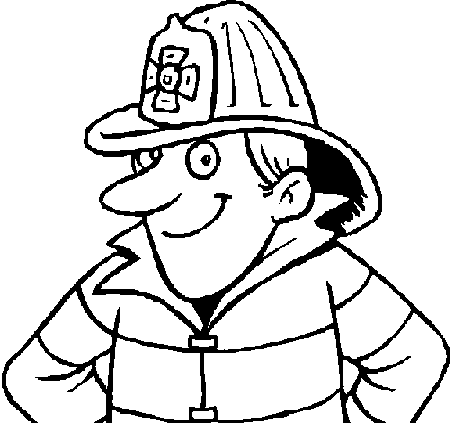 505x470 Firefighter Clipart Black And White 101 Clip Art