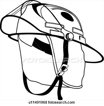 350x358 Firefighter Helmet Clipart Black And White Letters Example