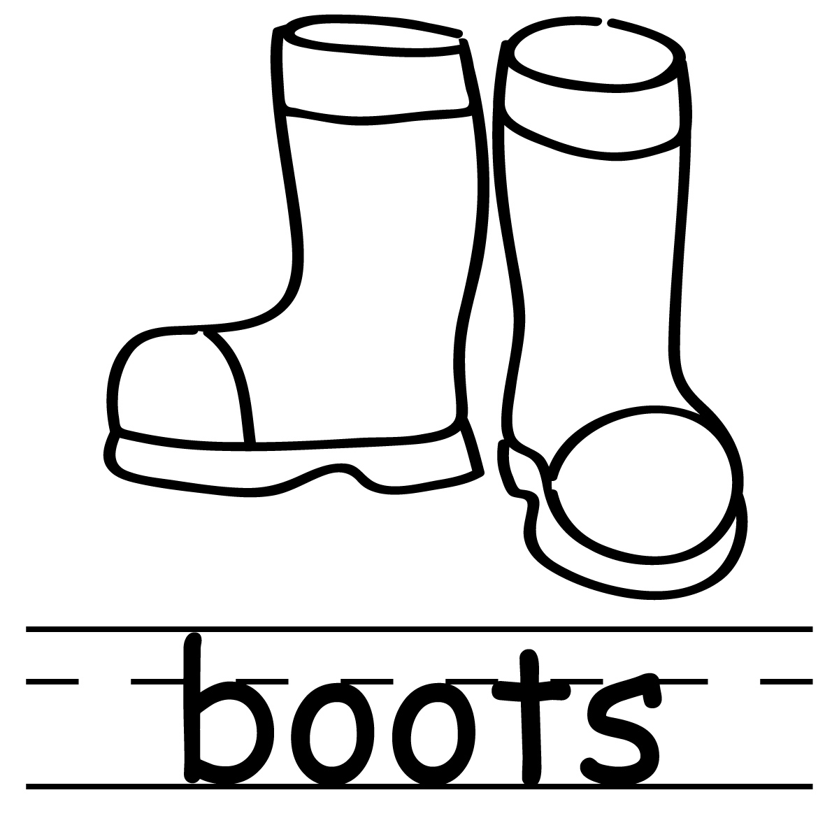 1200x1200 Boots Clipart Firefighter Boot