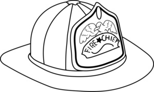 300x180 Fireman Hat Clipart