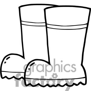 300x300 Boots Clipart Firefighter Boot