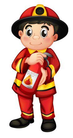 236x446 Firefighter Clipart