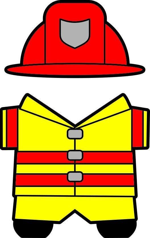 527x834 Uniform Clipart Firefighter Uniform