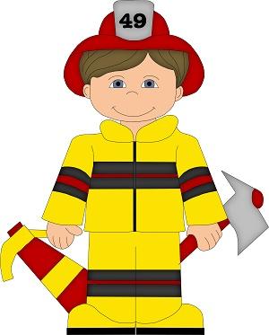 300x373 Clipart Fireman