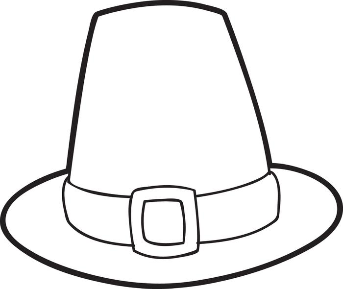 700x590 Drawn Hat Colouring Page