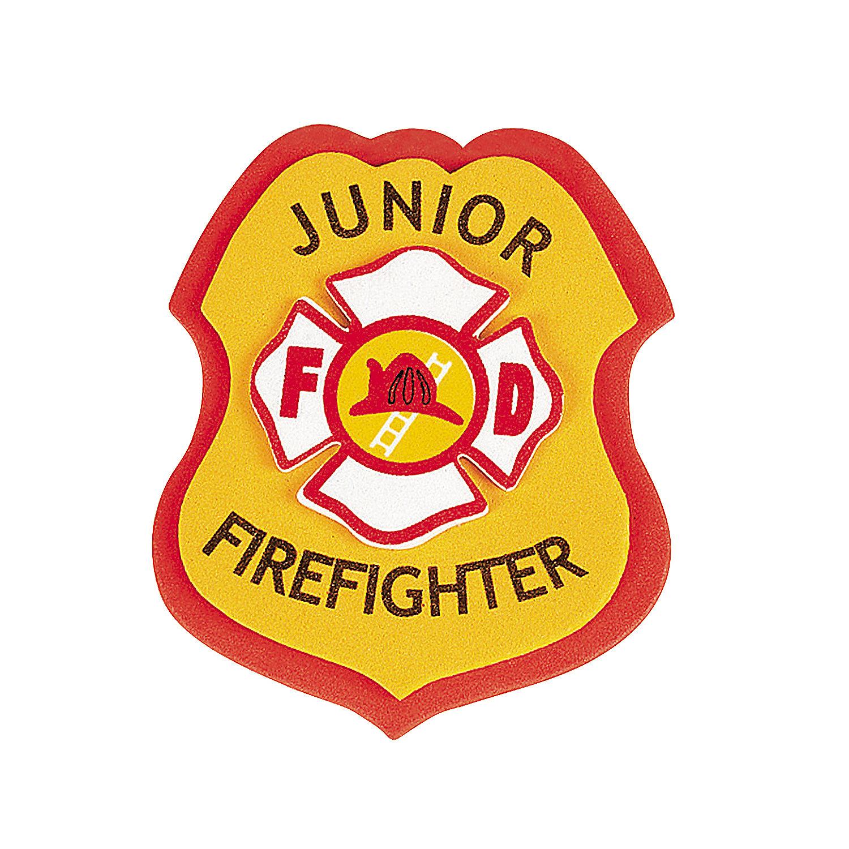 1500x1500 Fire Truck Clipart Badge