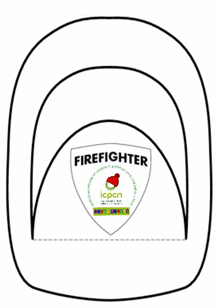 Firefighter Hat Template Free Download Best Firefighter Hat