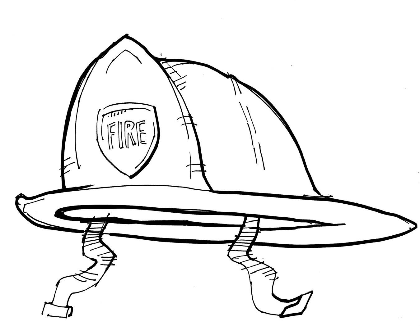 1350x1050 Printable Sombrero Coloring Page Dibujos De Profesiones Casco