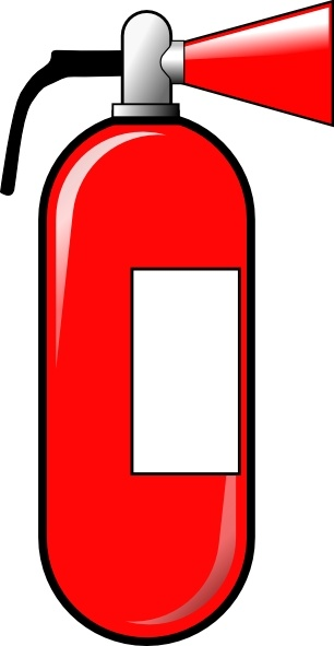 306x591 Fire Extinguisher Clip Art Free Vector In Open Office Drawing Svg