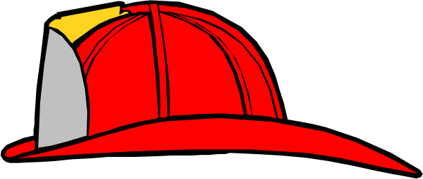 611x259 Fire Fighter Hard Hat Clipart