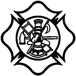 300x300 Fireman Shield Clip Art