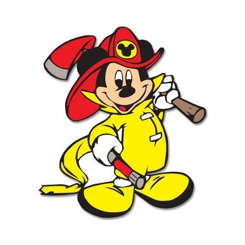 500x500 Free Firefighter Clipart