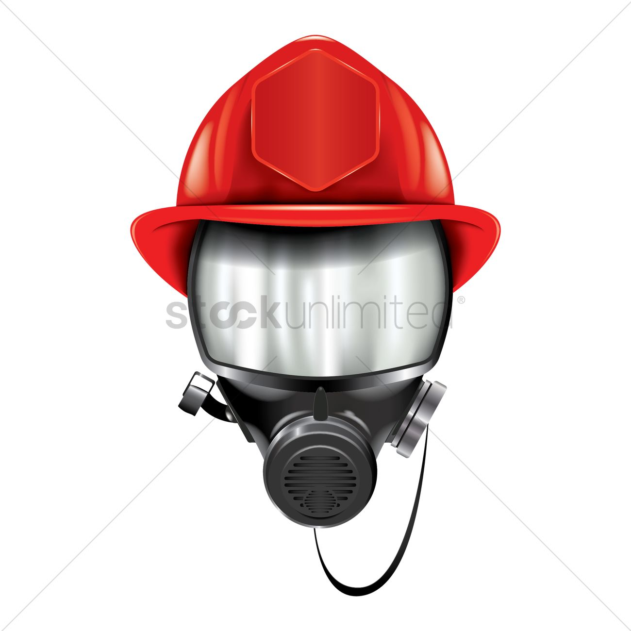 1300x1300 Mask Clipart Firefighter