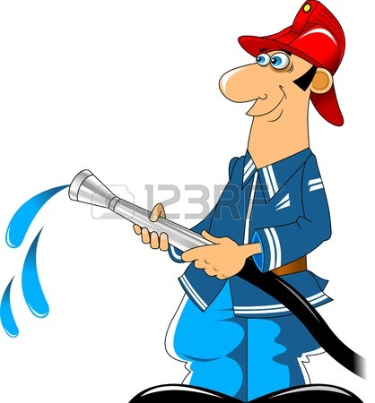 Firefighter Hose Clipart
