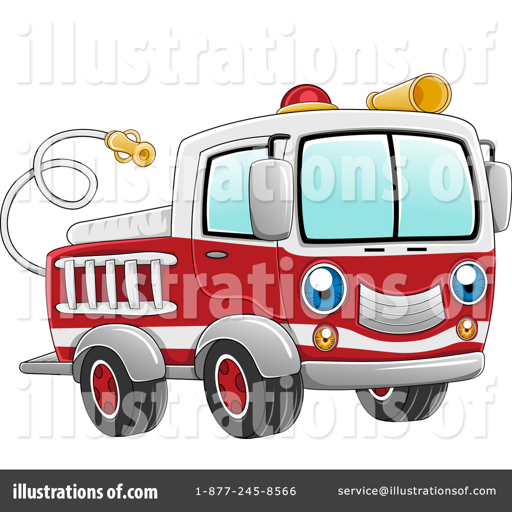 1024x1024 Fire Truck Clipart