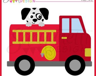 340x270 Fire Truck Clipart Cute