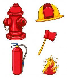236x274 Firefighter Stick Figures Cute Digital Clipart For Card Design