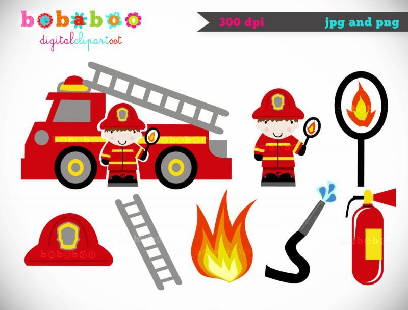800x608 Firefighter Clipart Fire Truck