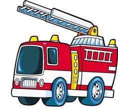 236x218 Fire Truck Clipart