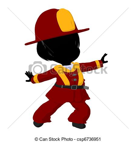 450x470 Firefighter Clipart Little