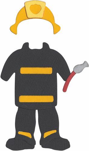 295x500 Firefighter Uniform Clipart