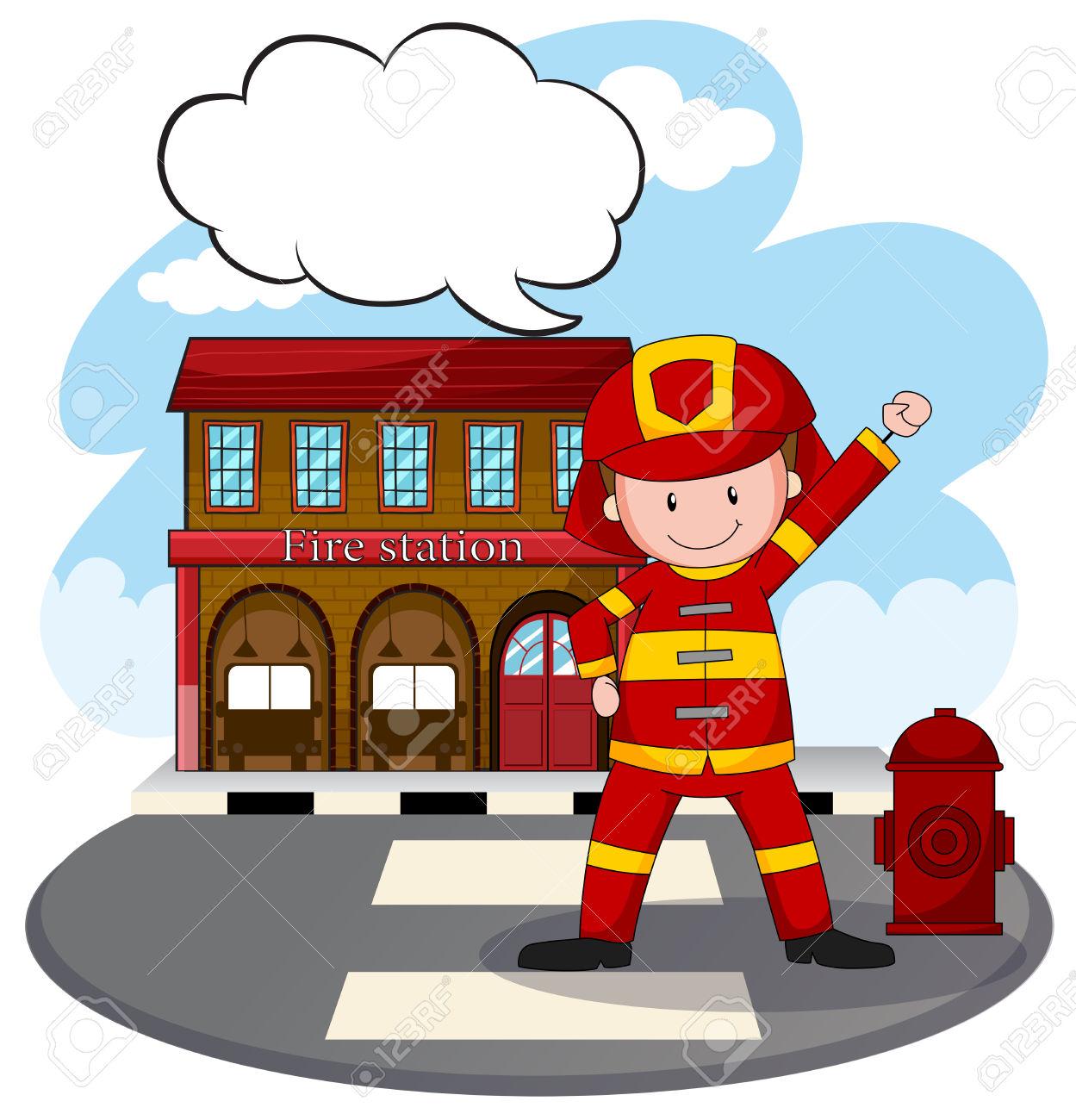 1249x1300 Bulding Clipart Firefighter